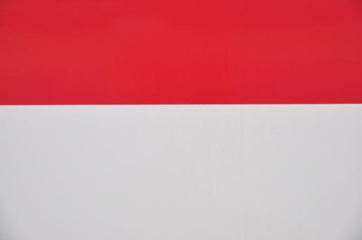 世界の国旗、インドネシアとモナコ.JPG