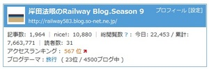 2013.11.11 Railway Blog 8周年.jpg