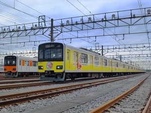 東武鉄道クレヨンしんちゃんラッピングトレイン