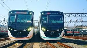 東京急行電鉄6020系と2020系